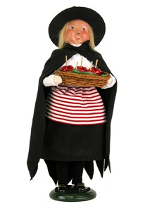 Witch with Candy Apples 7142