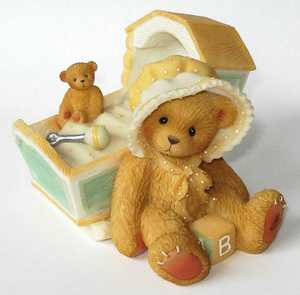 Cherished Teddies Awaiting Arrival Baby 743801