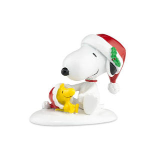 Department 56 Peanuts Happy Holidays Snoopy Woodstock 809414