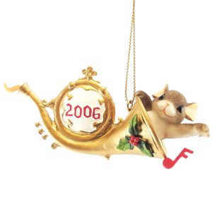 Charming Tails Annual Dated 2006 Ornament 86154