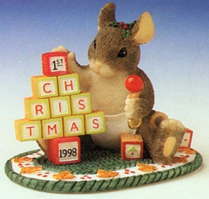 Charming Tails Building Blocks of Christmas 87619