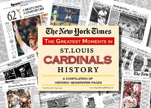 St. Louis Cardinals Newspaper Compilation