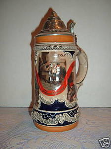 Anheuser Busch Budweiser Stein Decade of the 50 GM26