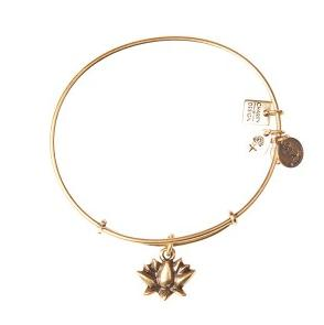 Lotus Blossom Bangle Rafaelian Gold