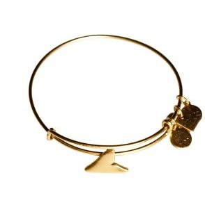 Shark Finn Bangle Rafaelian Gold
