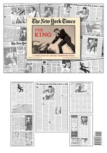 Elvis The King New York Times Historic Newspaper Compilation