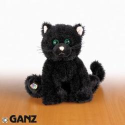 Webkinz Ganz Black Cat  Hm135 New with Sealed Tag