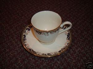 Lenox China Meadow Breeze Cup and Saucer