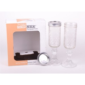 Carson Home Accents The Original Rednek Champagne Flutes Set of 2