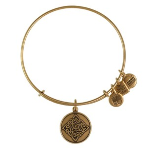 Celtic Knot Charm Bangle Rafaelian Gold