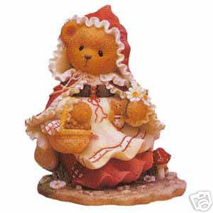 Cherished Teddies Lois As Little Red Riding Hood 302511