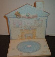 Cherished Teddies Our Family House Display CRT014