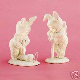 Dept 56 Snowbunnies Easy Does It St/2 26274 Retired