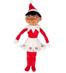 Elf On The Shelf Girl Plushee Pal Dark