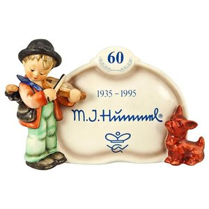 Goebel Hummel Display Plaque Puppy Love 1995 042
