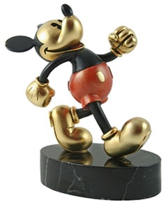 Chilmark Hudson Mickey Mouse On Parade Gold MetalART