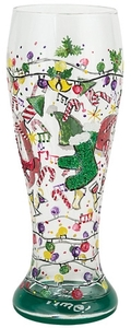 Lolita Holiday Party Pilsner Glass PIL-5529C 22 oz