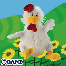 Webkinz Chicken HM205  New with Sealed Tag