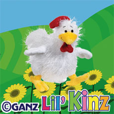 Webkinz Lil' Kinz Chicken HS205 New with Sealed Tag