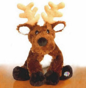 Webkinz Ganz HM137 Reindeer New with Sealed Tag