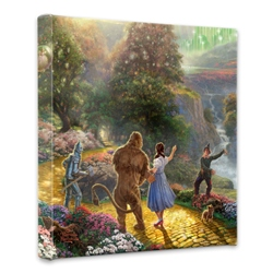 Dorothy Discovers the Emerald City 14 x 14 Gallery Wrap