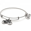 Bike Charm Bangle Rafaelian Silver