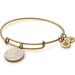 Special Delivery Pink Charm Bangle  Rafaelian Gold