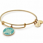 Arrows of Friendship Charm Bangle Yellow Gold