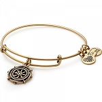 Take the Wheel Charm Bangle Rafaelian Gold