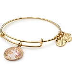 Unicorn Charm Bangle Gold