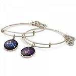 Big and Little Dipper Set of Two Charm Bangles Rafaelian Silver