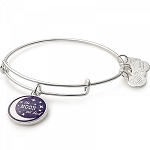 Stellar Love Charm Bangle Shiny Silver