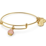 Cupcake Bangle Shiny Gold Race To Erase MS