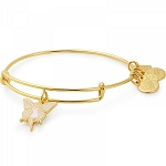 Fairy Charm Bangle Shiny Gold