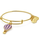 We Rise Charm Bangle Global Citizen Shiny Gold