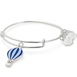 We Rise Charm Bangle Global Citizen Shiny Silver