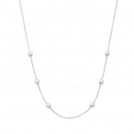 "32"" Expandable Chain Necklace Sterling Silver"