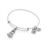 The Knight Charm Bangle Rafaelian Silver
