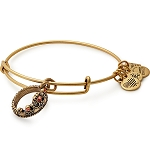 Queens Crown Charm Bangle Rafaelian Gold