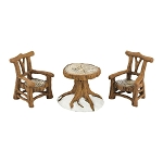 Woodland Table & Chairs 4033838