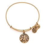Lighthouse Charm Bangle Rafaelian Gold