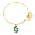 Octopus Charm Bangle Shiny Gold