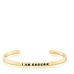 I Am Enough Gold