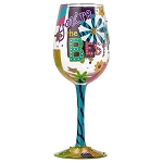 Lolita You're the Best Wine Glass 15 oz 4053102