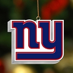 New York Giants 3D Logo Ornament