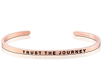 Trust the Journey Rose Gold
