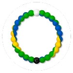 Lokai Blue Yellow Green Extra Large