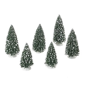 Frosted Pine Grove Set of 6 4054236