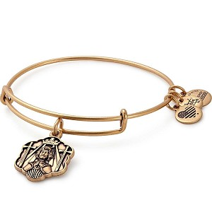 Joan of Arc Charm Bangle Rafaelian Gold