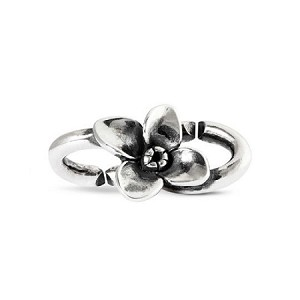 Flower Double Silver Link